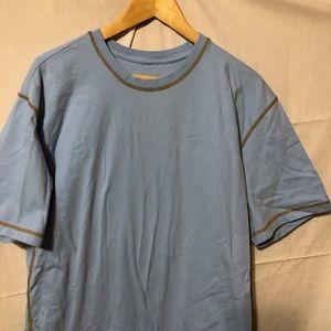 Orvis Men's Large BLUE Short Sleeve T-Shirt